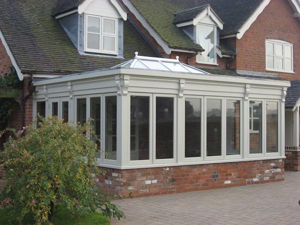 Engineered softwood conservatory Lichfield Staffordshire