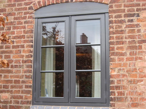 Engineered softwood window with conservation glazing bars Yoxall Staffordshire