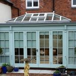 Hardwood Conservatory with Lantern Light Longdon Staffordshire