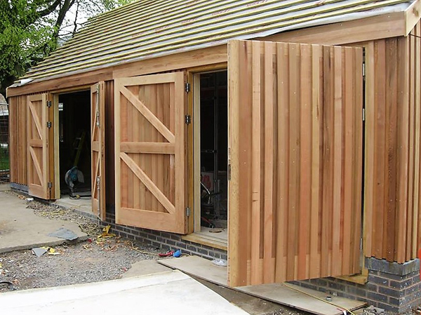 Timber cladding Shrewsbury