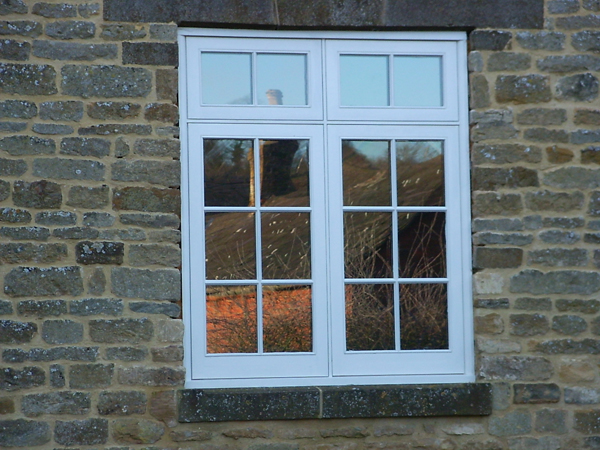 Traditional Georgian softwood window Cotswolds Wiltshire